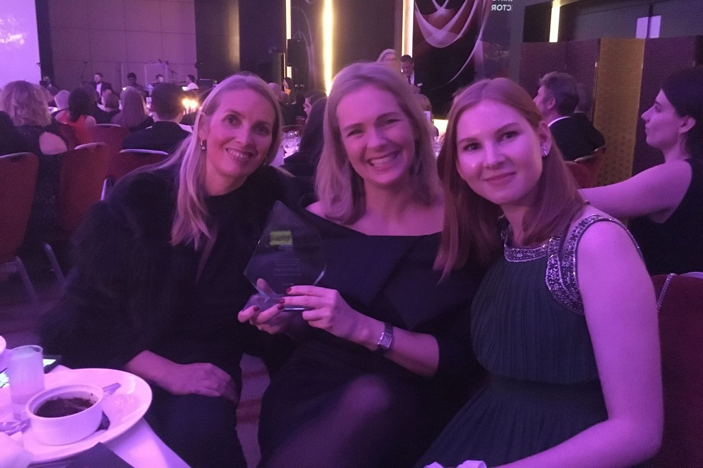 Hunkemöller with their first golden award!